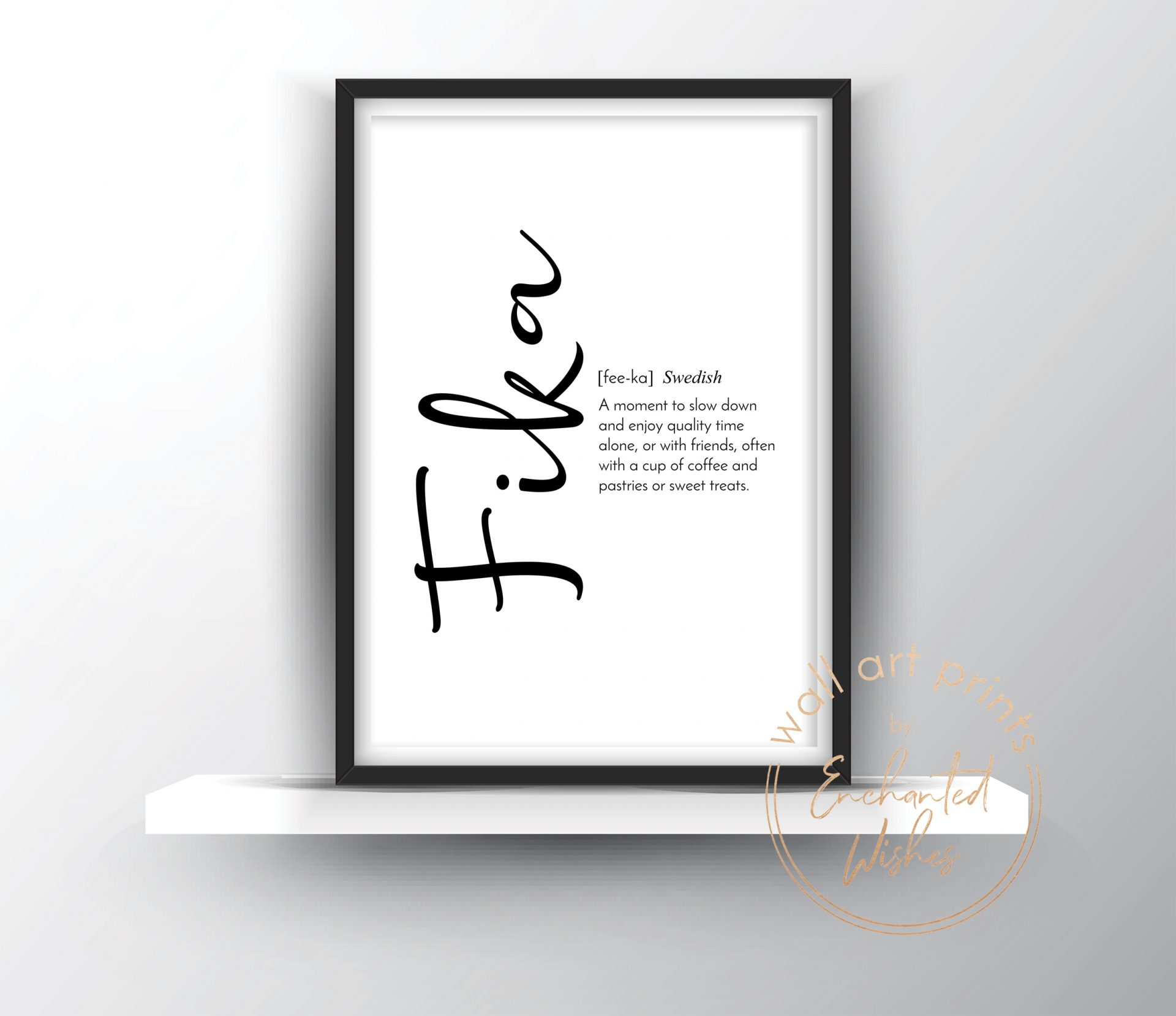 Fika definition print