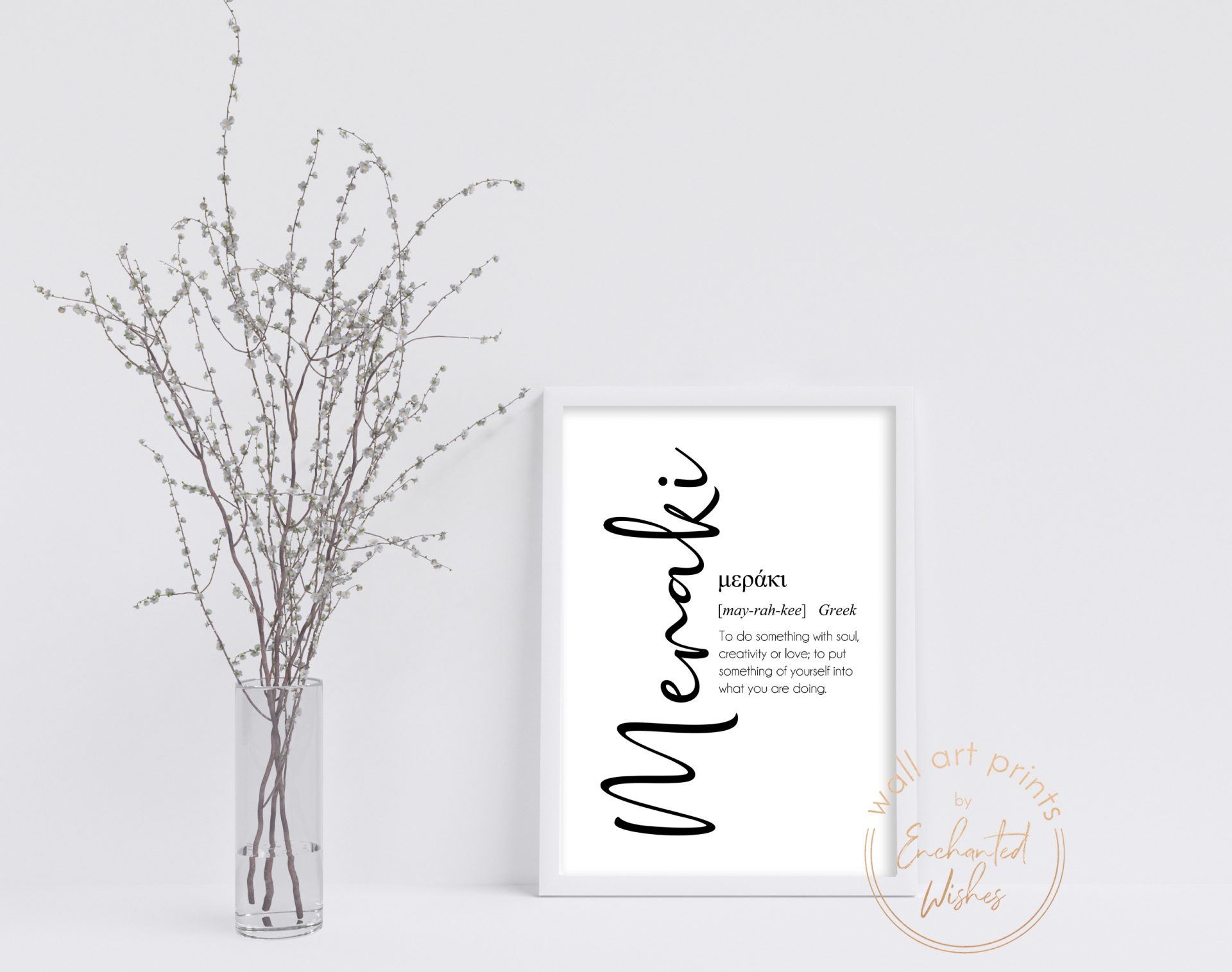 Meraki definition print