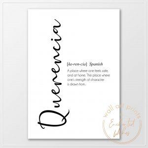 Querencia definition print