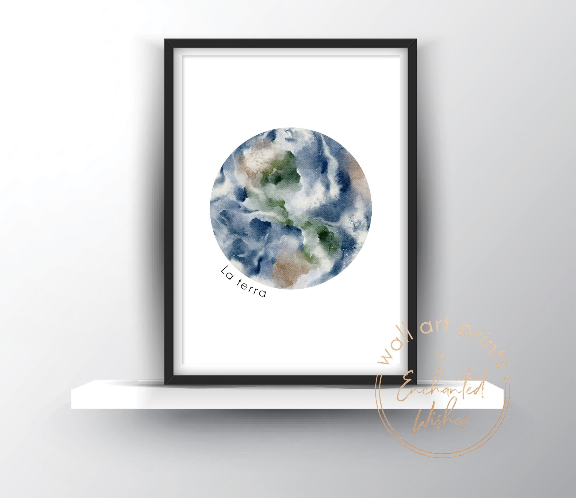 Earth La Terra print