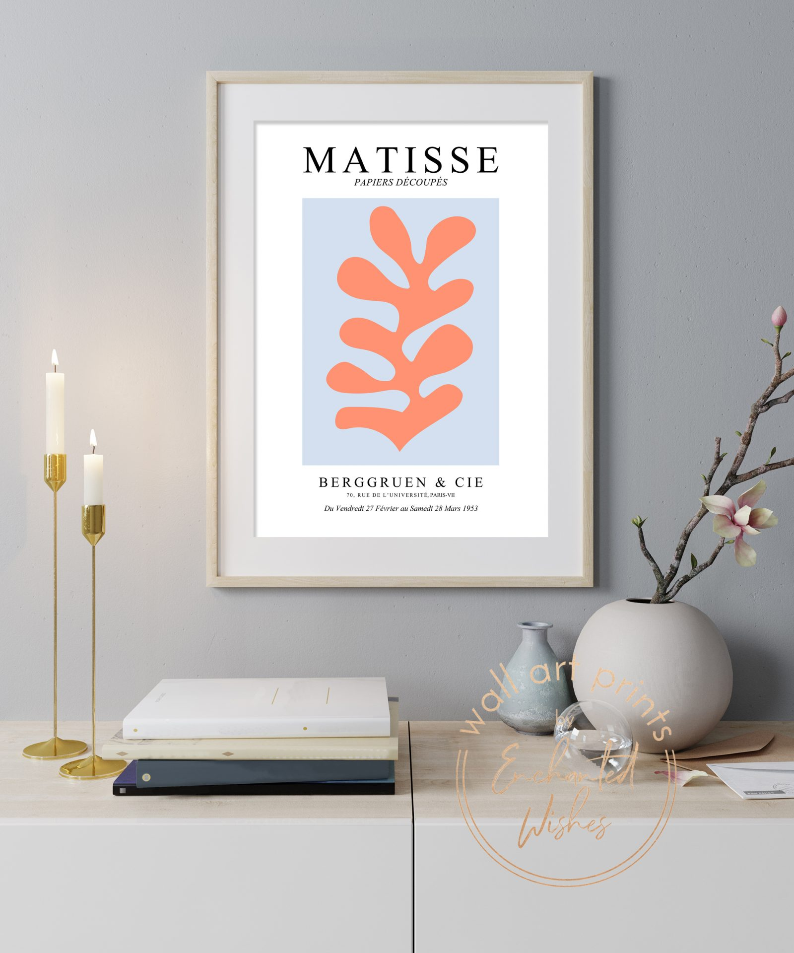 Matisse cut outs print