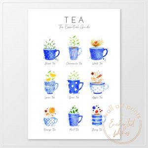 Tea Guide print
