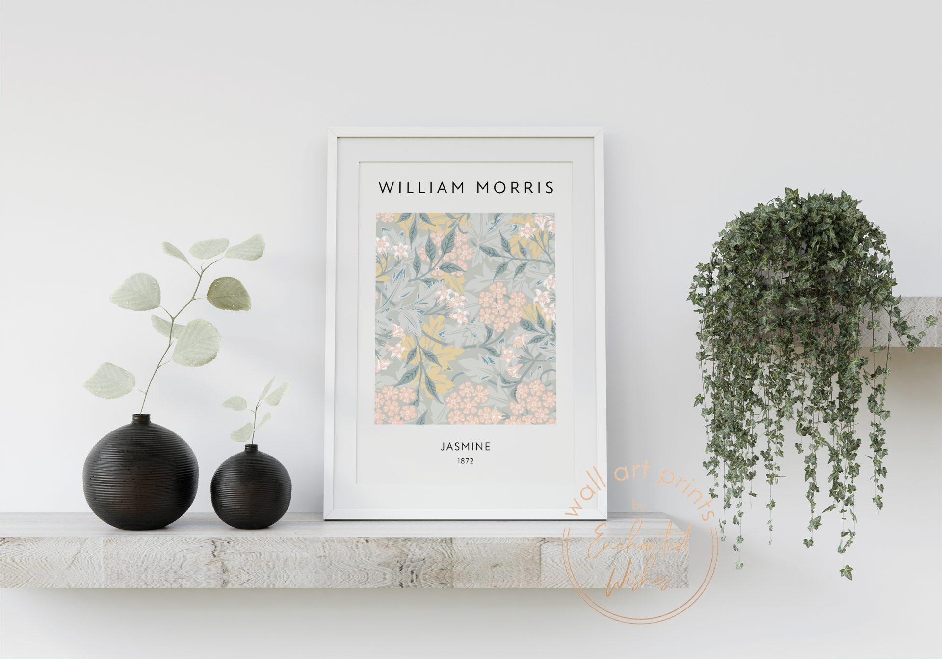 William Morris Jasmine Print